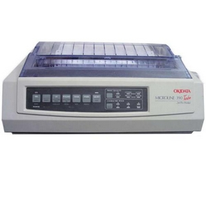 Oki MICROLINE 390 Turbo Dot Matrix Printer - 24-pin - 390 cps Mono - 360 x 360 dpi - Parallel, USB