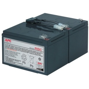 APC Replacement Battery Cartridge #6 - Maintenance-free Lead Acid Hot-swappable