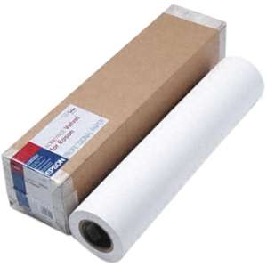 "Epson Somerset Fine Art Paper - A1 - 24"" x 50 ft - 255 g/m² - Velvet - 36% Brightness - 1 / Roll - White"
