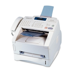 Brother IntelliFAX 4750e Laser Multifunction Printer - Monochrome - Plain Paper Print - Desktop - Fax, Copier, Printer - 15 ppm Mono Print - 600 x 600 dpi Print - 15 cpm Mono Copy LCD - 250 sheets Input - USB
