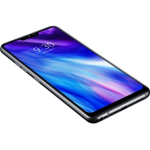 "LG G7 ThinQ LMG710ULM 6.1"" Unlocked Android 64 GB Smartphone - Platinum Gray"
