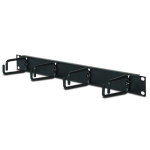 APC 1U Horizontal Cable Organizer - Black