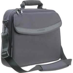"Kensington SureCheck K62148 Carrying Case (Messenger) for 15.4"" Notebook - Black - Shock Absorbing - Polyester"