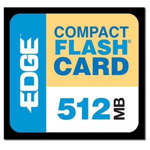 EDGE Tech 512MB Premium CompactFlash Card - 512 MB