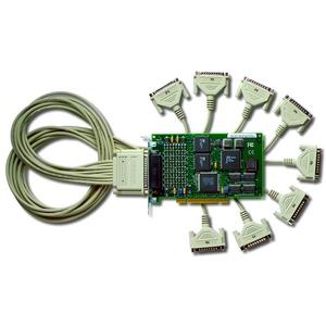 Digi 8r 920 Multiport Serial Adapter - 8 x DB-25 Male Serial - Plug-in Card - DB-25 Male Fan-out Cable