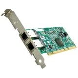 Intel PRO/1000 MT Dual Port Server Adapter - PCI-X - 10/100/1000Base-T - Internal - Full-height, Low-profile - Retail