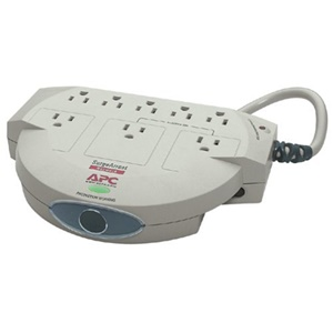 APC SurgeArrest Network 8 Outlet 120V - Receptacles: 8 x NEMA 5-15R - 480J