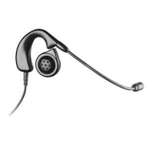 Plantronics Mirage H41N Headset - Mono - Black - Proprietary Interface - Wired - Over-the-ear - Monaural - 3 ft Cable - Noise Cancelling Microphone