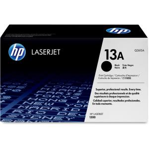 HP 13A Black Toner Cartridge - Black - Laser - 2500 Page - 1 Each