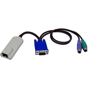 Avocent Modular to KVM Adapter - HD-15 Female, Female, RJ-45 Female