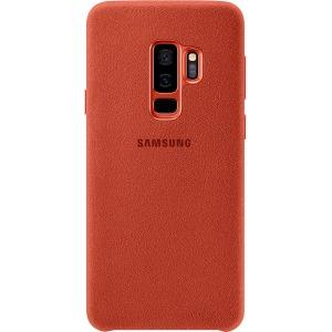 Samsung Galaxy S9+ Alcantara Phone Cover - Red
