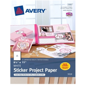 "Avery Photo Paper - For Inkjet Print - A4 - 8.50"" x 11"" - Matte - 15 Label"
