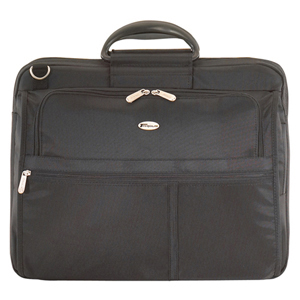 Targus XL Notebook Case - Top-loading - Handle, Detachable Shoulder Strap - 1 Pocket - Nylon - Black