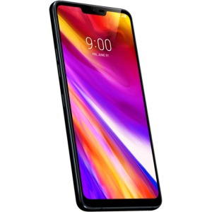 "LG G7 ThinQ LMG710ULM 6.1"" Unlocked Android 64 GB Smartphone - Aurora Black"