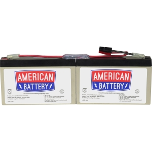 ABC Replacement Battery Cartridge #18 - Maintenance-free Lead Acid Hot-swappable
