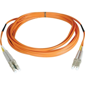 Tripp Lite Duplex Fiber Optic Patch Cable - LC Male - LC Male - 16.4ft