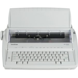 "Brother ML-100 Electronic Typewriter - Daisy Wheel - 12 cps - 9"" Print Width"