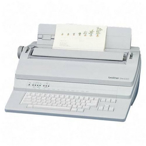 Brother EM-530 Typewriter with Dictionary - Daisy Wheel - 20 cps - 12&quot; Print Width