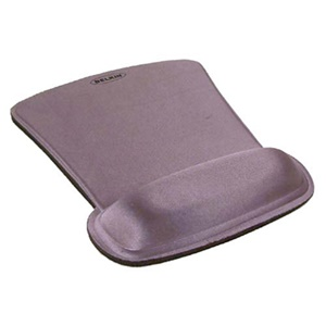Belkin WaveRest Series Gel Mouse Pad - Silver