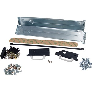 HP Depth Adjustable Fixed Rail Kit - Metal - 300 lb