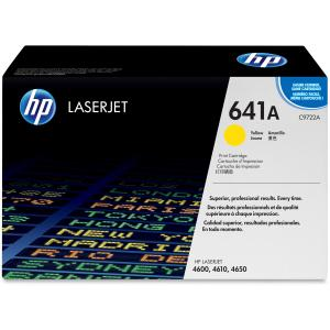 HP 641A Yellow Toner Cartridge - Yellow - Laser - 8000 Page - 1 Each