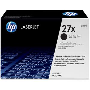 HP 27X Black Toner Cartridge - Black - Laser - 10000 Page - 1 Each - Retail