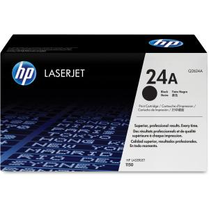 HP 24A Black Toner Cartridge - Black - Laser - 2500 Page - 1 Each