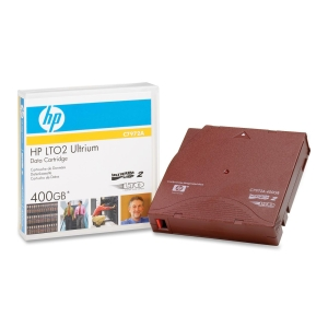 HP Ultrium LTO-2 Data Cartridge - LTO Ultrium - LTO-2 - 200 GB (Native) / 400 GB (Compressed) - 1 Pack