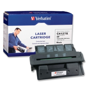 Verbatim HP C4127X Compatible HY EP-52 Toner Cartridge - Black - Laser - 10000 Page - 1 / Pack - Retail