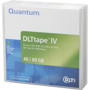 Quantum THXKD02 DLT-4000 Data Cartridge - DLT - DLTtapeIV - 40 GB (Native) / 80 GB (Compressed) - 1 Pack
