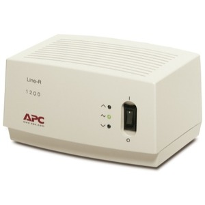 APC Line-R 1200VA Line Conditioner With AVR - 1200VA