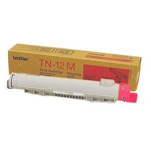 Brother 12M Magenta Toner Cartridge - Magenta - Laser - 6000 Page - 1 Each