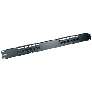 Tripp Lite 12-Port Cat6 Patch Panel - 12 x RJ-45