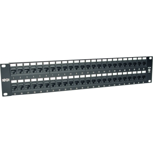 Tripp Lite N252-048 Cat6 Network Patch Panel - 48 x RJ-45