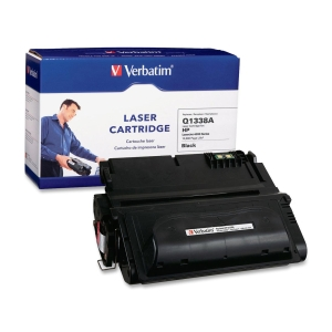 Verbatim HP Q1338A Compatible Toner Cartridge (4200) - Black - Laser - 12000 Page - 1 / Pack