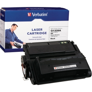 Verbatim HP Q1339A Compatible Toner Cartridge (4300) - Black - Laser - 18000 Page - 1 / Pack