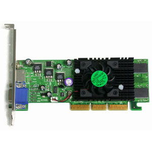 Jaton 3DForceFX 5200 Video Accelerator - 128MB - S-Video, RCA