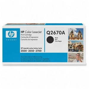 HP 308A Black Toner Cartridge - Black - Laser - 6000 Page - 1