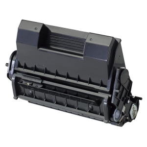Oki B6300n Black Toner Cartridge - Black - Laser - 1 Each