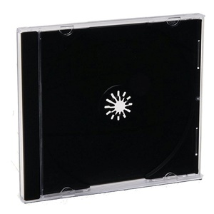 Verbatim CD Case - Book Fold - Black - 1 CD/DVD- 200 pk
