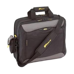 "Targus CityGear Carrying Case for 17"" Notebook - Black, Gray, Yellow - Nylon"