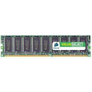 Corsair 1GB DDR SDRAM Memory Module - 1GB (2 x 512MB) - 400MHz DDR400/PC3200 - Non-ECC - DDR SDRAM - 184-pin