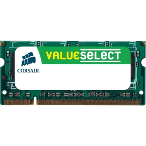 Corsair Value Select 1GB DDR SDRAM Memory Module - 1GB (1 x 1GB) - 333MHz DDR333/PC2700 - Non-ECC - DDR SDRAM - 200-pin