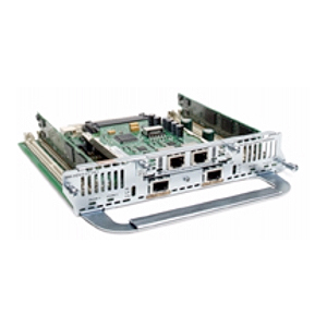 Cisco IP Communications High-Density Digital Voice/Fax Network Module - 2 x T1/E1 - 1 x VIC/VWIC