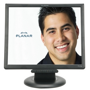 "Planar PL1700 17"" LCD Monitor - 4:3 - 5 ms - 1280 x 1024 - 16.7 Million Colors (24-bit) - 250 Nit - 1,000:1 - VGA - Black - RoHS"