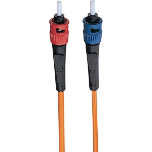 Tripp Lite Duplex Fiber Optic Patch Cable - LC Male - ST Male - 6.56ft