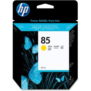 HP 85 Yellow Ink Cartridge - Yellow - Inkjet - 1 Each