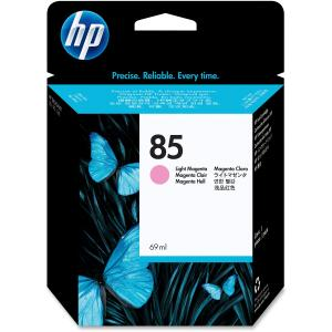 HP 85 Light Magenta Ink Cartridge - Light Magenta - Inkjet - 1750 Page - 1 Each