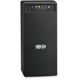 Tripp Lite SmartPro 750VA SMART750USB UPS - 750 VA/450 WWall Mountable Tower 0.05 Hour Full Load - 3 x NEMA 5-15R - Battery Backup System, 3 x NEMA 5-15R - Surge-protected