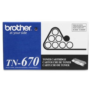 Brother Black Toner Cartridge - Black - Laser - 7500 Page - 1 Each